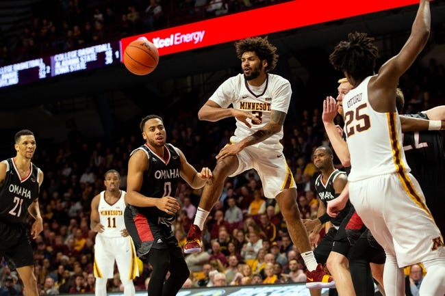 NCAA BB | Arkansas State Red Wolves (3-5) at Minnesota Golden Gophers (7-2)