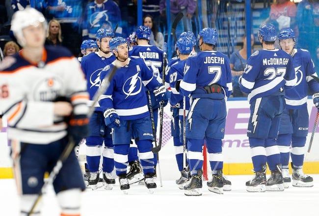 NHL | Tampa Bay Lightning (27-7-2) at Edmonton Oilers (18-14-3)