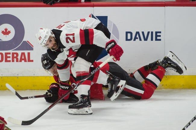 NHL | Ottawa Senators (15-16-4) at New Jersey Devils (11-15-7)
