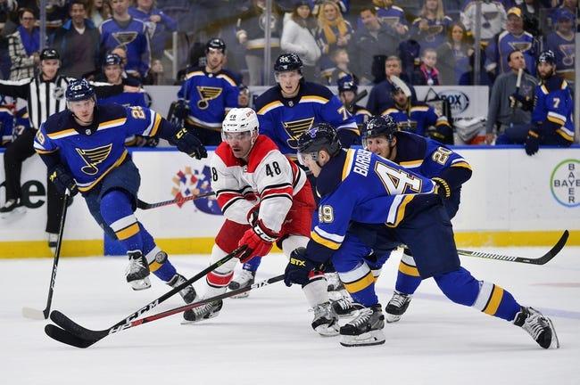 NHL | St. Louis Blues at Carolina Hurricanes