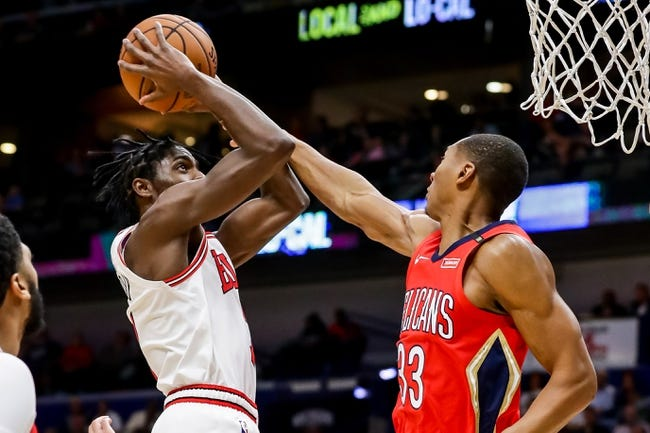 NBA   New Orleans Pelicans at Chicago Bulls
