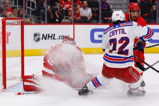 NHL | New York Rangers at Detroit Red Wings