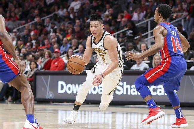 NBA   Atlanta Hawks (8-23) at Detroit Pistons (15-15)