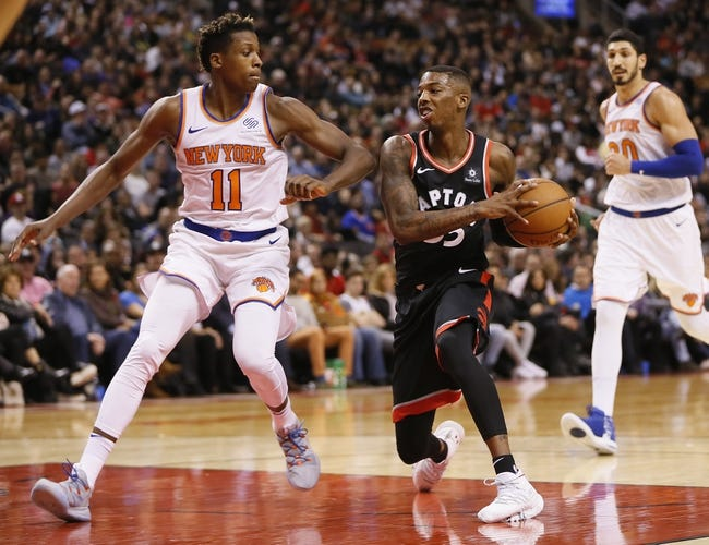 NBA | Toronto Raptors at New York Knicks