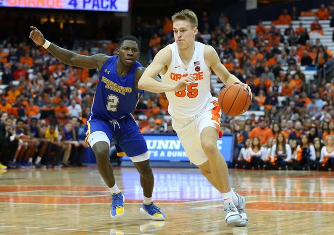 Connecticut vs. Syracuse - 11/15/18 College Basketball Pick, Odds, and Prediction