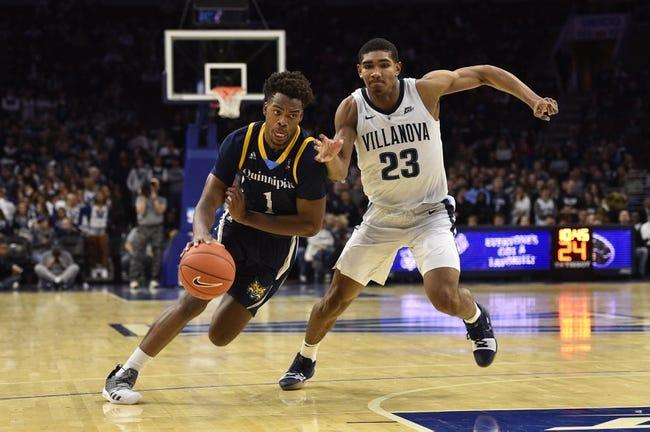 NCAA BB | Manhattan at Quinnipiac