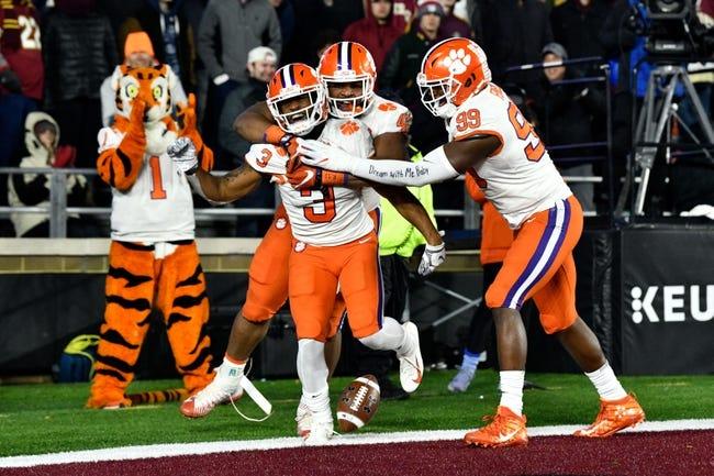 Clemson vs. Duke - 11/17/18 College Football Pick, Odds, and Prediction