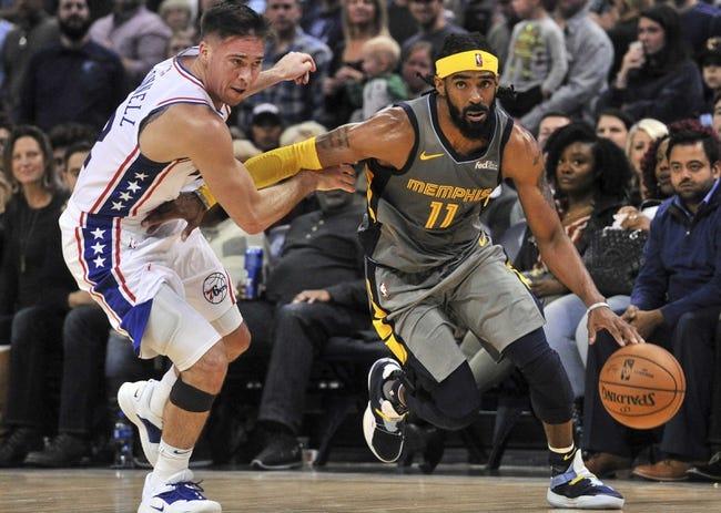 Philadelphia 76ers vs. Memphis Grizzlies - 12/2/18 NBA Pick, Odds, and Prediction