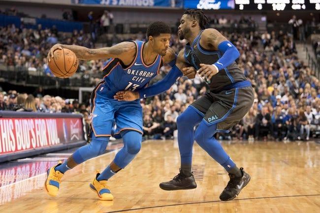 NBA | Oklahoma City Thunder (22-12) at Dallas Mavericks (16-18)