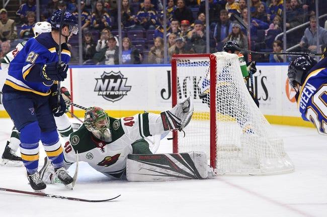 NHL | St. Louis Blues at Minnesota Wild