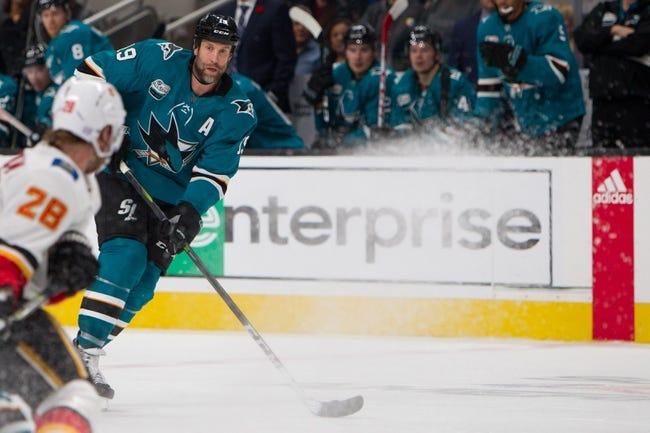 NHL | San Jose Sharks (21-12-7) at Calgary Flames (23-12-4)
