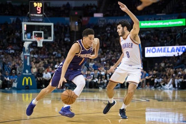 Oklahoma City Thunder - 111718 NBA Pick,