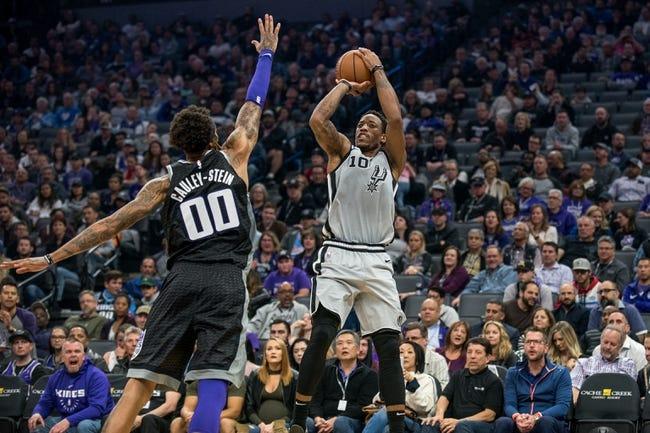 NBA   San Antonio Spurs at Sacramento Kings