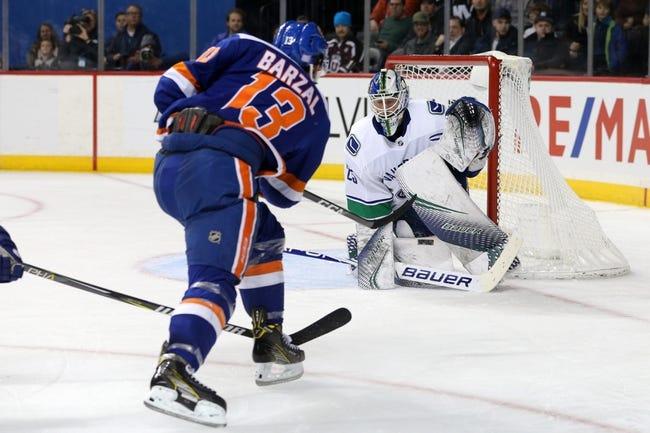 NHL | New York Islanders at Vancouver Canucks