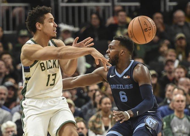 NBA | Milwaukee Bucks at Memphis Grizzlies