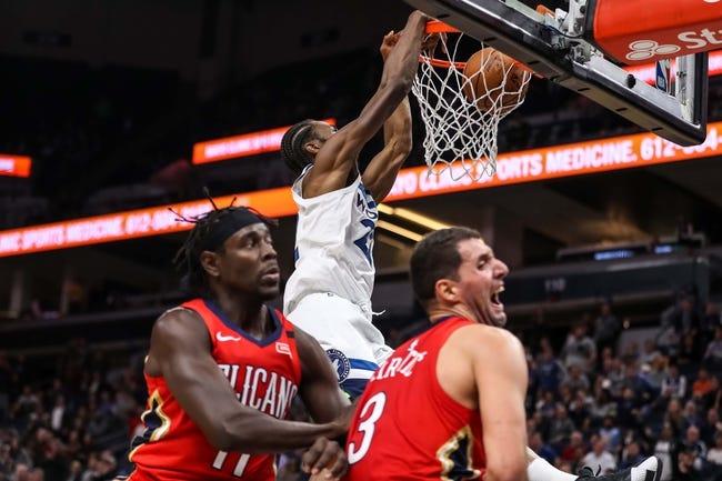 NBA | Minnesota Timberwolves (17-19) at New Orleans Pelicans (16-21)