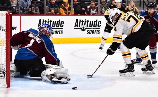 NHL | Colorado Avalanche at Boston Bruins