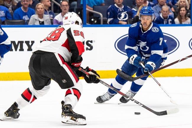 NHL | Ottawa Senators at Tampa Bay Lightning