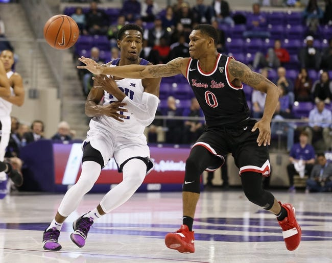 NCAA BB | Fresno State at Utah State