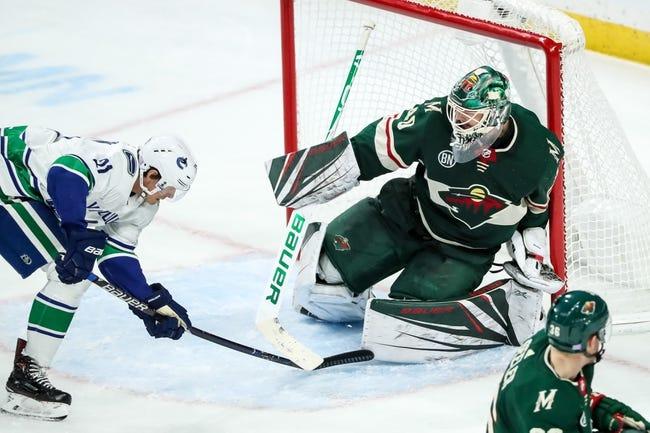 NHL | Minnesota Wild (14-10-2) at Vancouver Canucks (11-15-3)