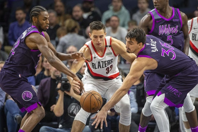 Portland Trail Blazers vs. Minnesota Timberwolves - 12/8/18 NBA Pick, Odds, and Prediction