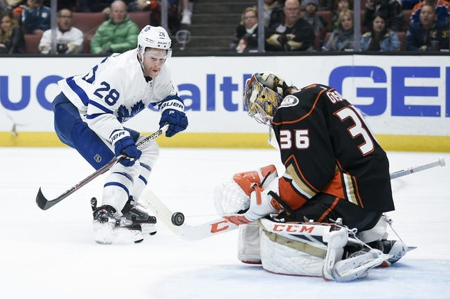 NHL | Anaheim Ducks at Toronto Maple Leafs