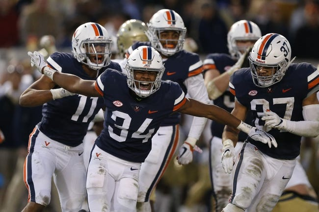Virginia Tech vs. Virginia - 11/23/18 College Football Pick, Odds, and Prediction