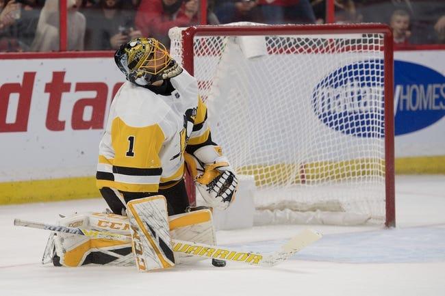 Ottawa Senators vs. Pittsburgh Penguins - 12/8/18 NHL Pick, Odds, and Prediction