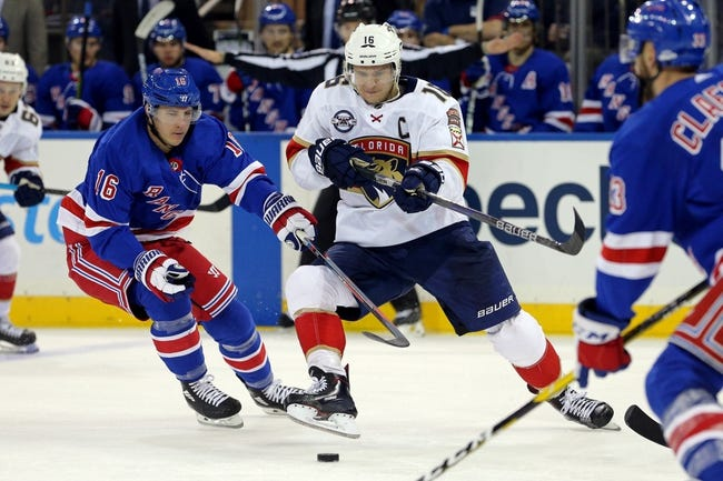Florida Panthers vs. New York Rangers - 12/8/18 NHL Pick, Odds, and Prediction