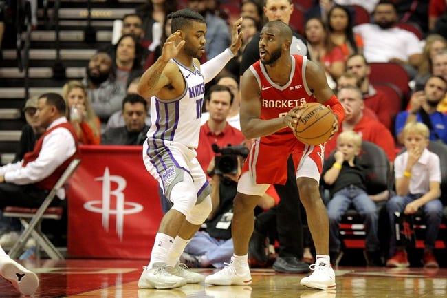 NBA | Houston Rockets at Sacramento Kings