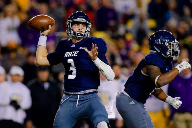 CFB | Old Dominion Monarchs (4-7) at Rice Owls (1-11)
