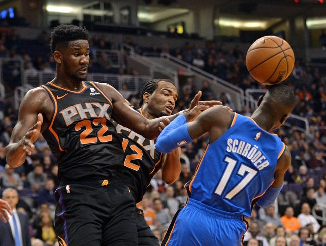 NBA | Oklahoma City Thunder (21-12) at Phoenix Suns (9-26)