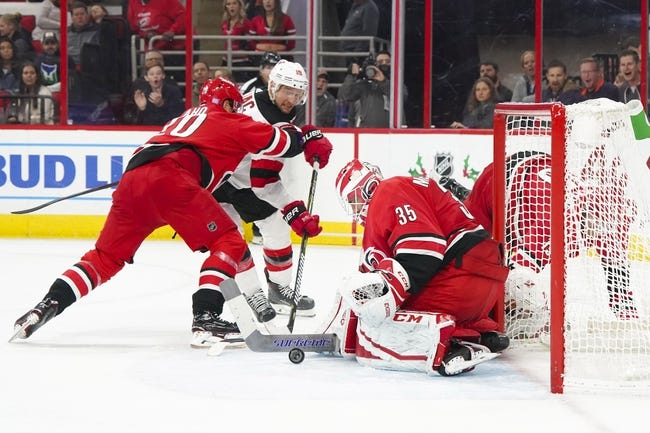 New Jersey Devils vs. Carolina Hurricanes - 12 29 18 NHL Pick 064eada3a