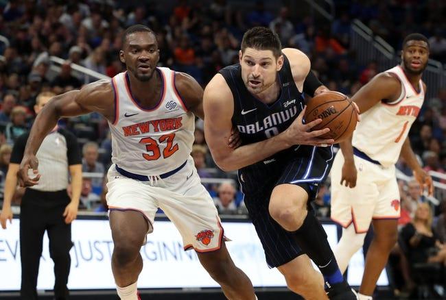 NBA   Orlando Magic at New York Knicks