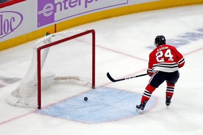 NHL   Minnesota Wild (17-15-3) at Chicago Blackhawks (13-20-6)