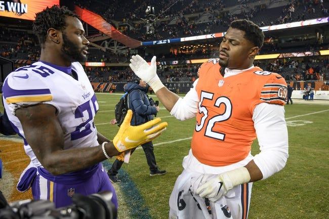 NFL | Chicago Bears (11-4) at Minnesota Vikings (8-6-1)