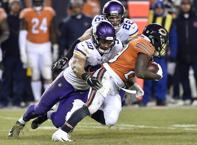 NFL   Chicago Bears (11-4) at Minnesota Vikings (8-6-1)
