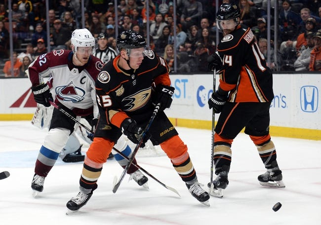 NHL | Anaheim Ducks at Colorado Avalanche
