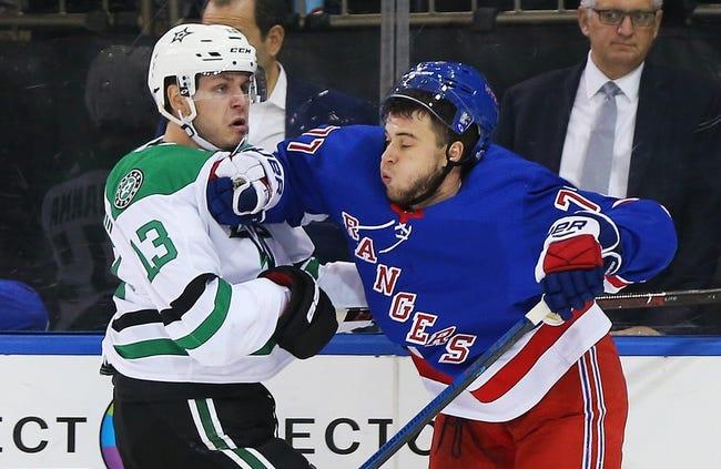 NHL | New York Rangers at Dallas Stars