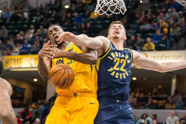 NBA | Indiana Pacers (11-8) at Utah Jazz (9-11)