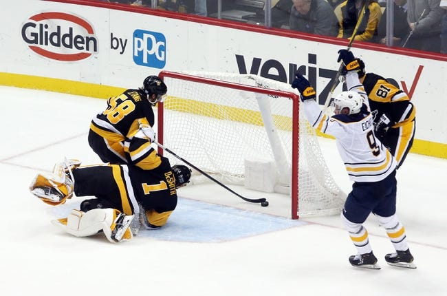 NHL   Pittsburgh Penguins at Buffalo Sabres