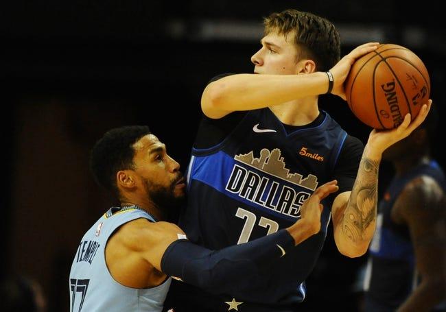NBA   Memphis Grizzlies at Dallas Mavericks