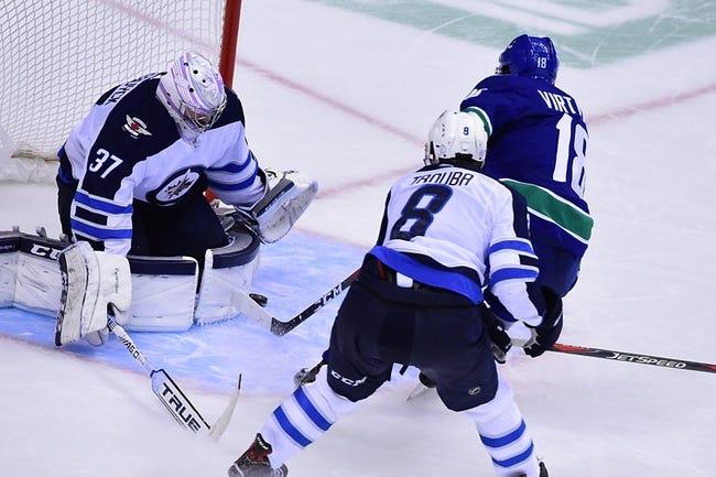 NHL   Winnipeg Jets (23-10-2) at Vancouver Canucks (17-17-4)