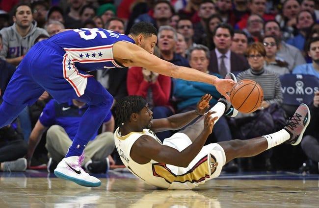 NBA | Philadelphia 76ers at New Orleans Pelicans