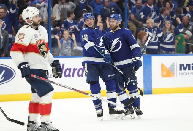 Florida Panthers vs. Tampa Bay Lightning - 12/1/18 NHL Pick, Odds, and Prediction