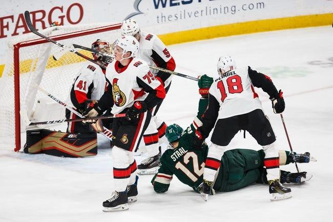 NHL   Ottawa Senators - Minnesota Wild