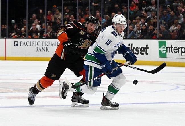 NHL | Vancouver Canucks at Anaheim Ducks