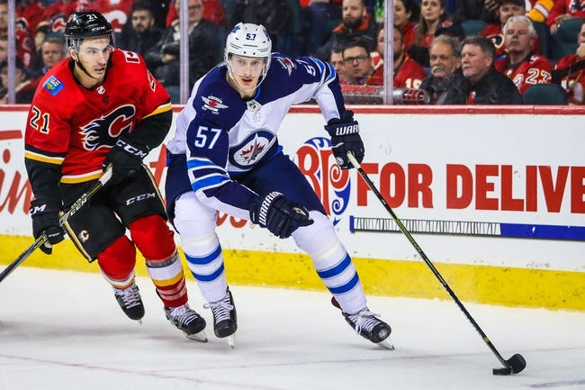 NHL | Calgary Flames (22-12-3) at Winnipeg Jets (24-10-2)