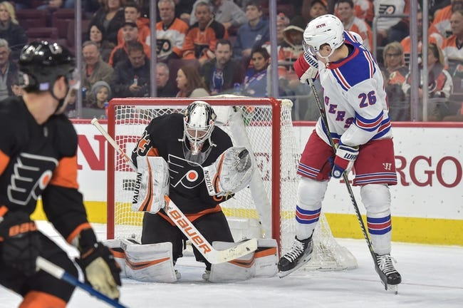 NHL | Philadelphia Flyers (14-16-4) at New York Rangers (15-14-5)