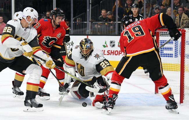 NHL | Calgary Flames at Vegas Golden Knights